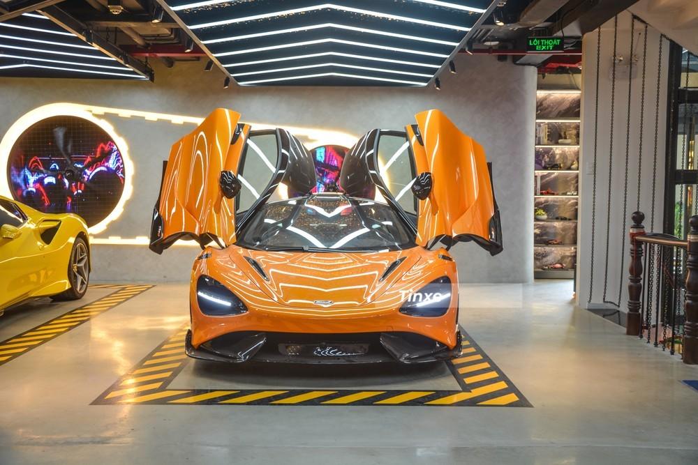 Siêu xe giới hạn McLaren 765LT đầu tiên về nước