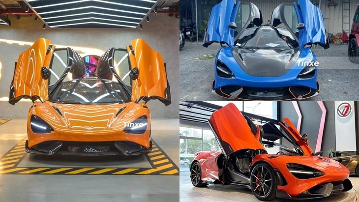 Bộ 3 siêu xe giới hạn McLaren 765LT tại Việt Nam