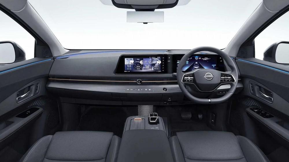 Nội thất của Nissan Ariya.