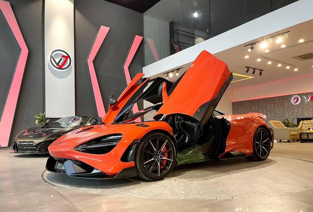 Siêu xe McLaren 765LT chỉ sản xuất ra 765 chiếc