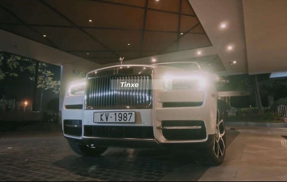 Rolls-Royce Cullinan trong MV Hiện Đại của Khắc Việt có biển số khá thú vị