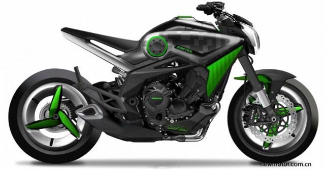 Mẫu xe có thiết kế khá giống với Yamaha MT-09 nhưng thậm chí còn hiện đại hơn