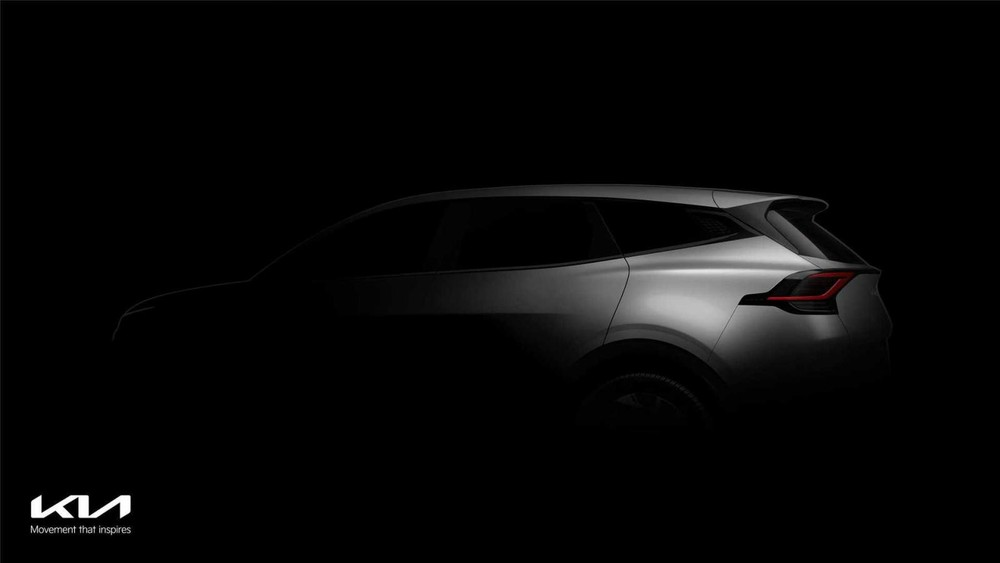 Thiết kế đèn hậu của Kia Sportage 2022