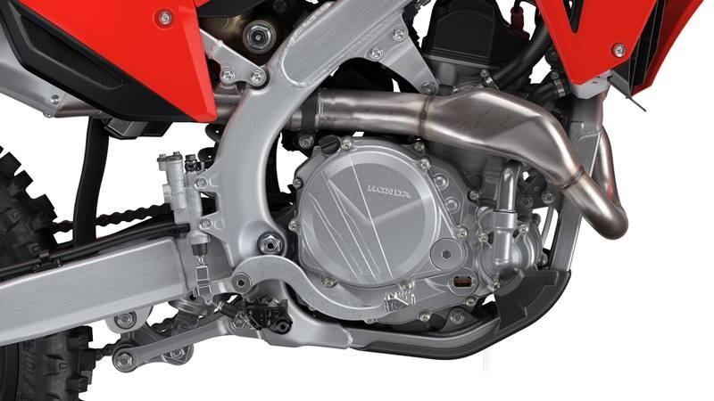 Khối động cơ tuyệt vời trên Honda CRF450R 2022