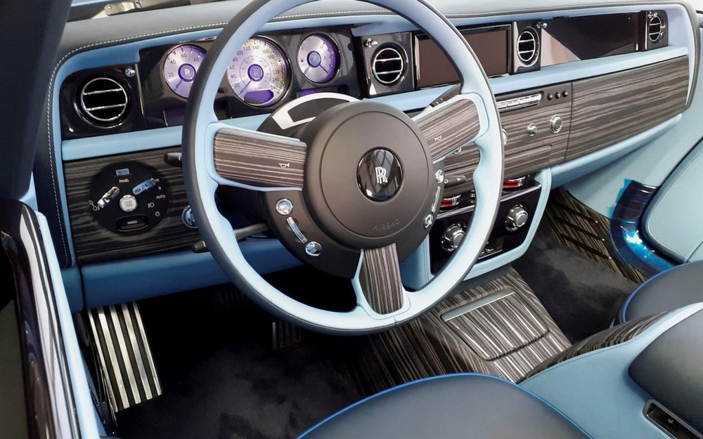 Nội thất của Rolls-Royce Boat Tail