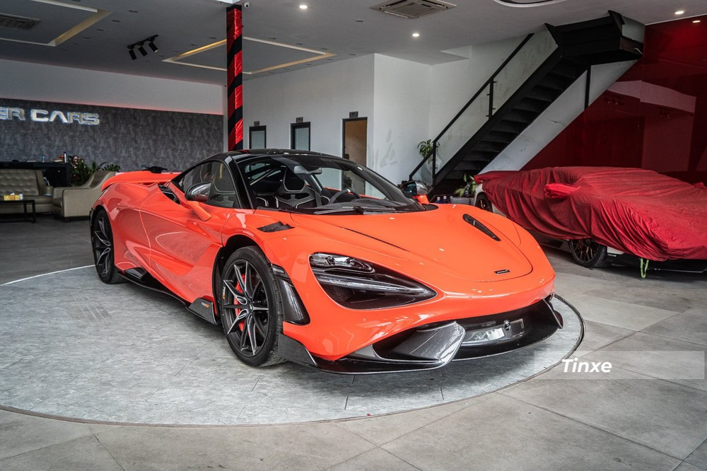 McLaren 765LT thứ 3 có màu Nardo Orange