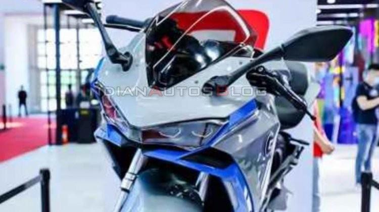 Mẫu xe mô tô điện mang kiểu dáng Sport bike được Benelli mang tới triển lãm