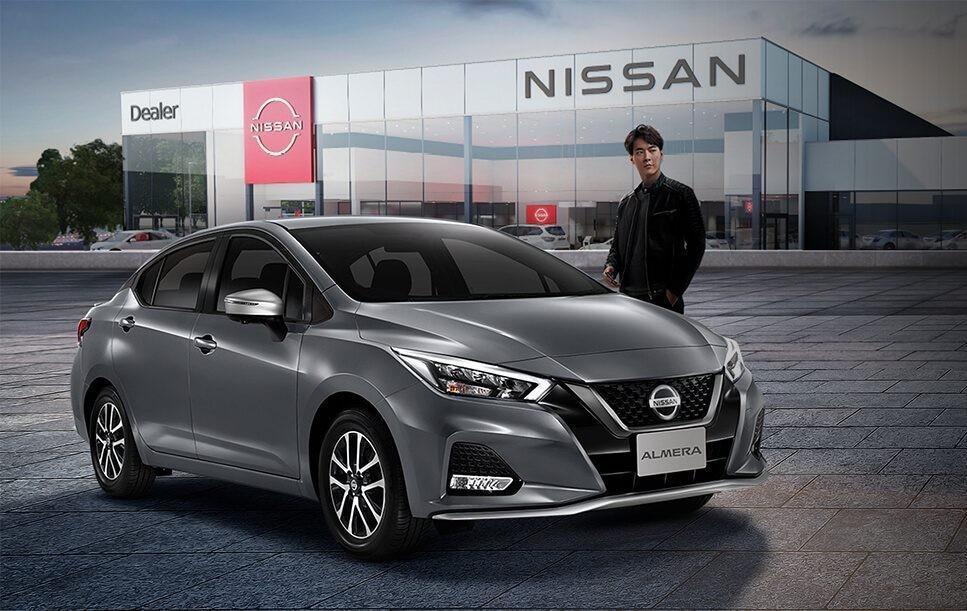 Nissan Almera Sportech 2021 có thiết kế cản trước mới