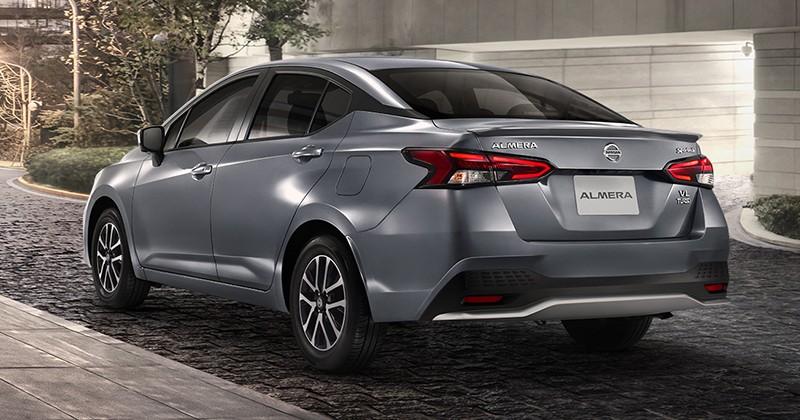 Cản sau mới của Nissan Almera Sportech 2021