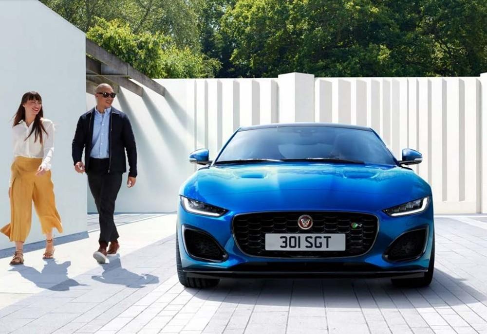 Vẻ ngoài đầy thu hút của Jaguar F-Type.