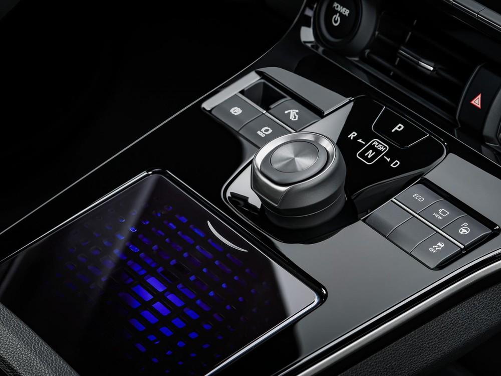 Núm xoay chuyển số của Toyota bZ4X