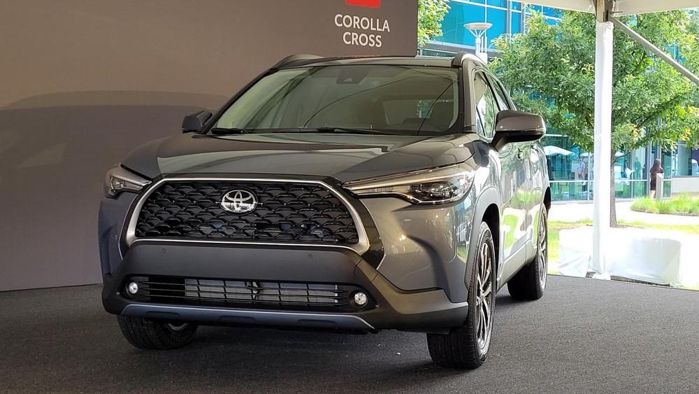 Thiết kế đầu xe của Toyota Corolla Cross 2022