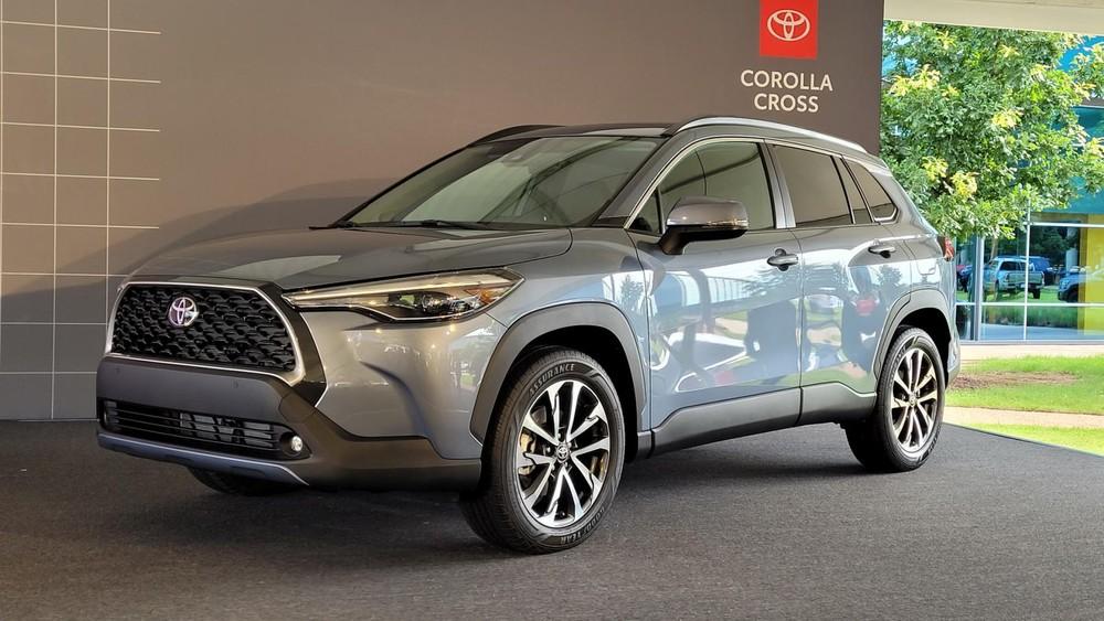 Toyota Corolla Cross 2022 ra mắt thị trường Mỹ