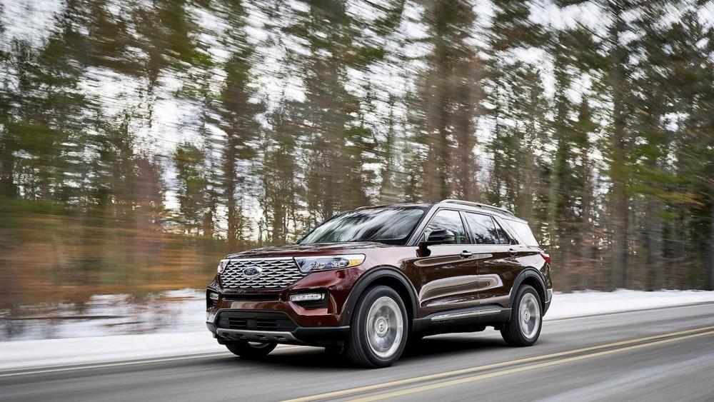 Ford Explorer từng lọt top 25 xe bán chay nhất tại Mỹ trong năm 2020, đứng ở vị trí số 13.