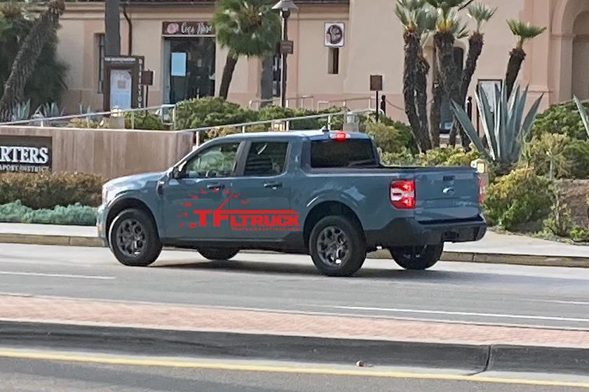 Ford Maverick 2022 được cho là xe bán tải dùng khung gầm xe con