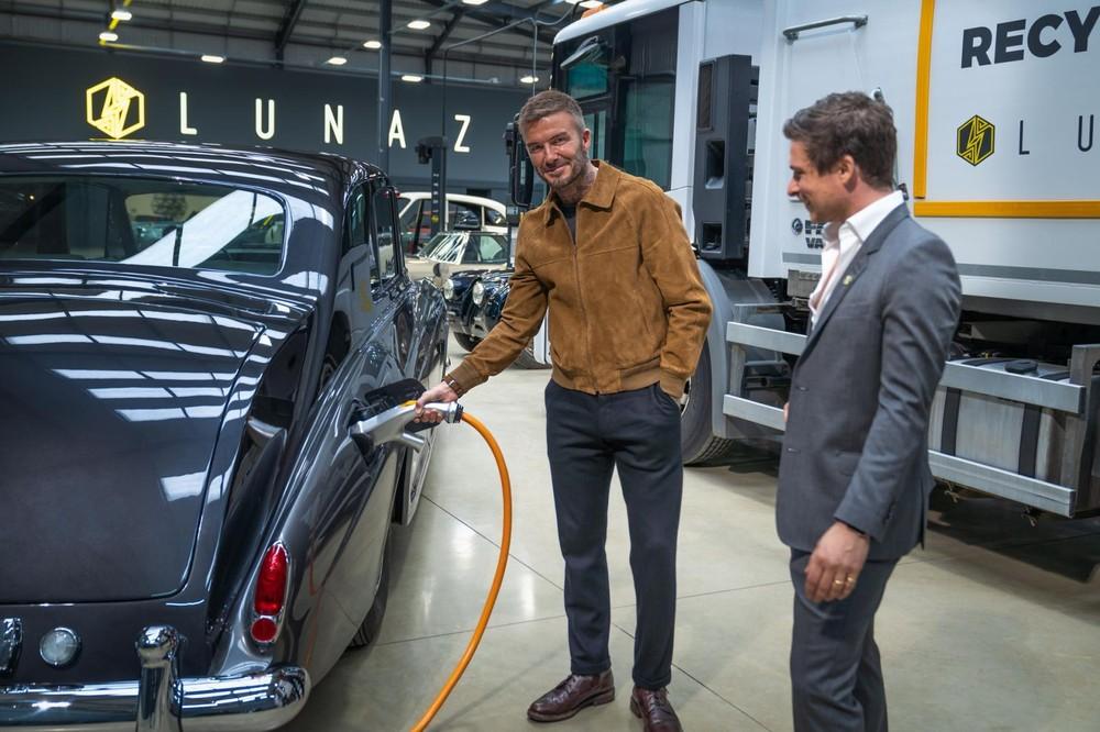 David Beckham đầu tư cho Lunaz