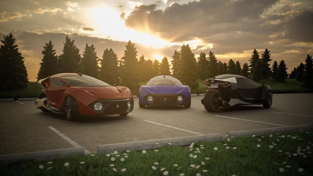 Hình ảnh giới thiệu xe điện 3 bánh Daymak Spiritus