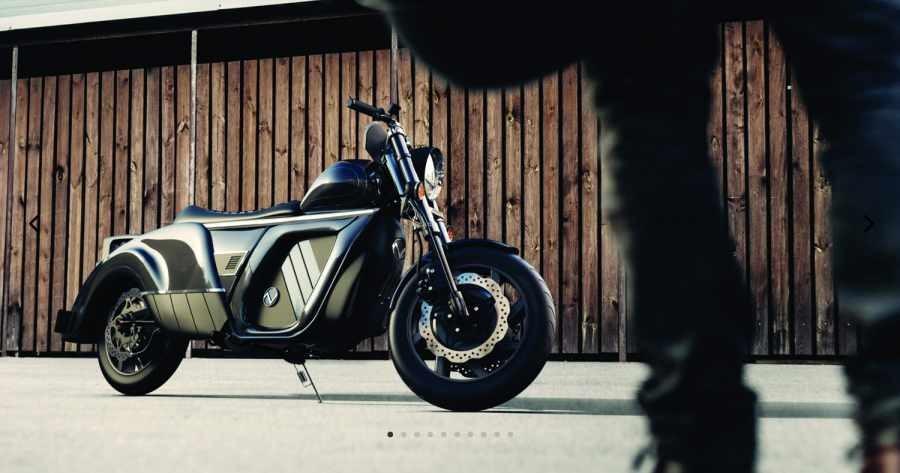 Mẫu xe mô tô điện đẳng cấp của Zaiser Motor