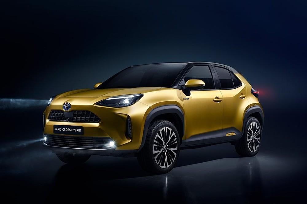 Toyota Yaris Cross 2021 có thiết kế mang nhiều ảnh hưởng từ người anh Toyota RAV4.
