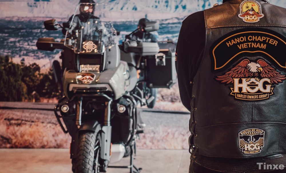 Hog Hanoi Chapter và Harley-Davidson Pan America 1250