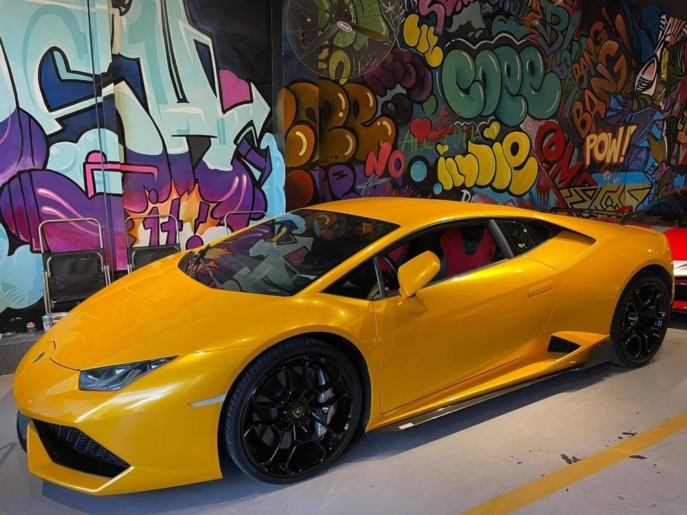 Diện mạo siêu xe Lamborghini Huracan ở Bạc Liêu