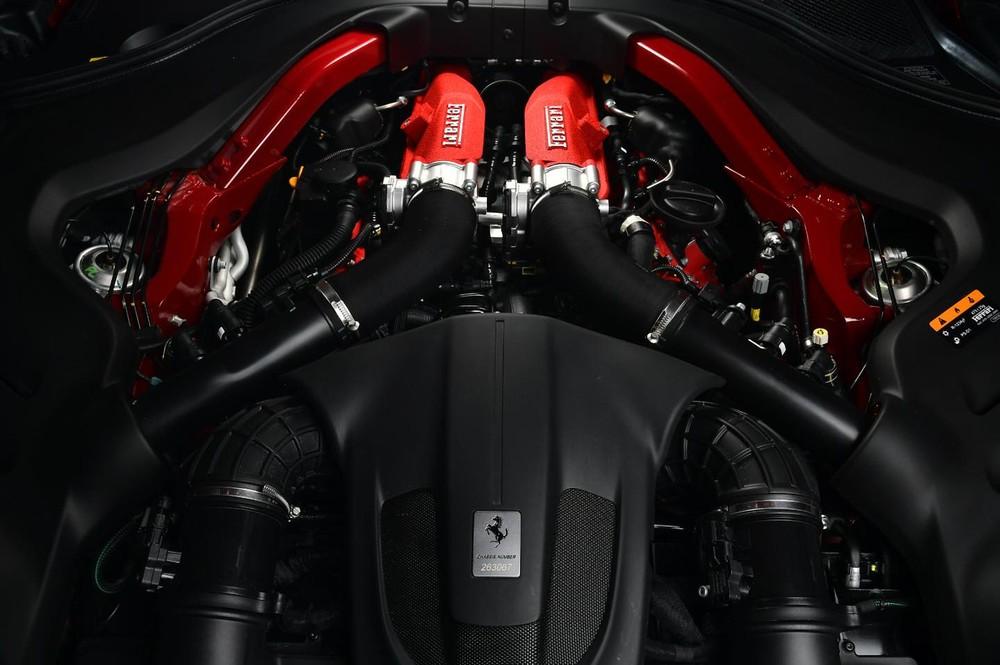 Động cơ của Ferrari Portofino M