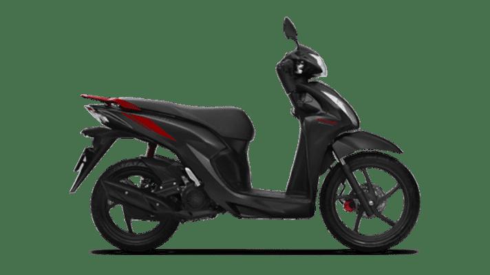 Honda Vision 2021 màu Đen Đỏ Cá tính