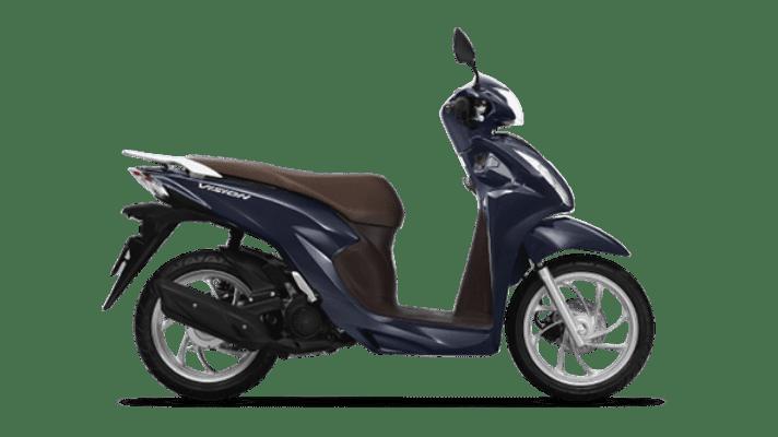 Honda Vision màu Xanh Nâu Đen Cao cấp