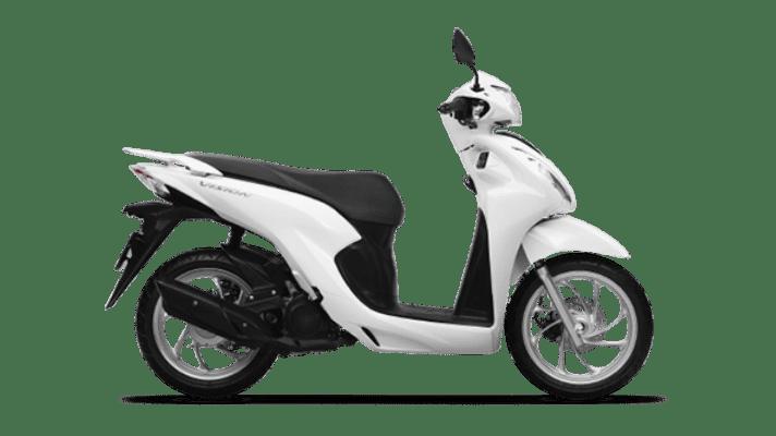 Honda Vision 2021 màu Trắng Tiêu chuẩn