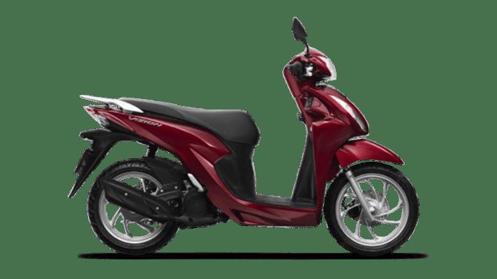 Honda Vision 2021 màu Đỏ Tiêu chuẩn