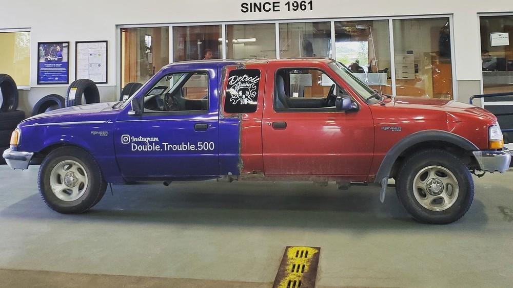 Chiếc Ford Ranger 2 đầu kỳ lạ này chỉ có chi phí 500 USD