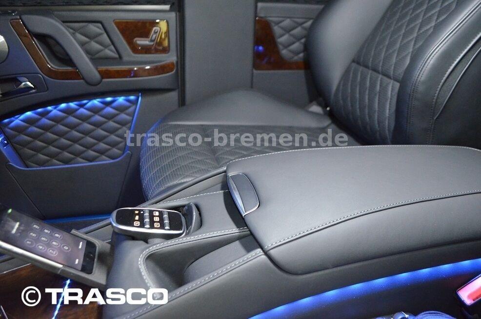 Ghế sau của Mercedes-AMG G63 bọc thép chống đạn