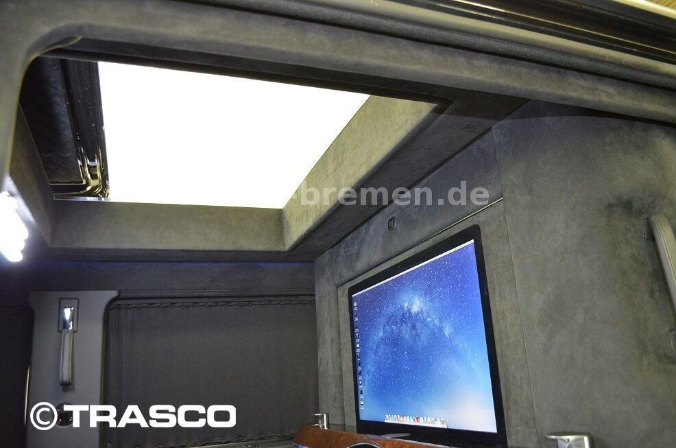 Cửa sổ trời của Mercedes-AMG G63 bọc thép chống đạn