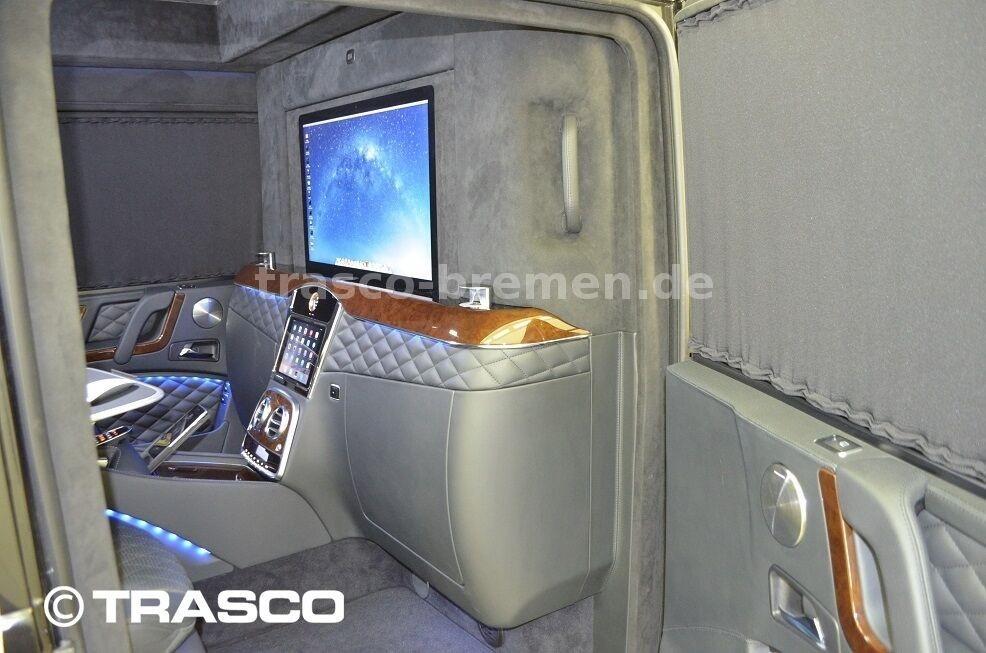 Vách ngăn bên trong Mercedes-AMG G63 bọc thép chống đạn