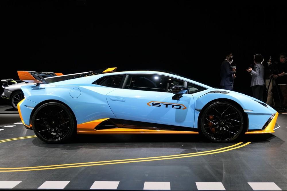 Siêu xe Lamborghini Huracan STO mới ra mắt Hồng Kông