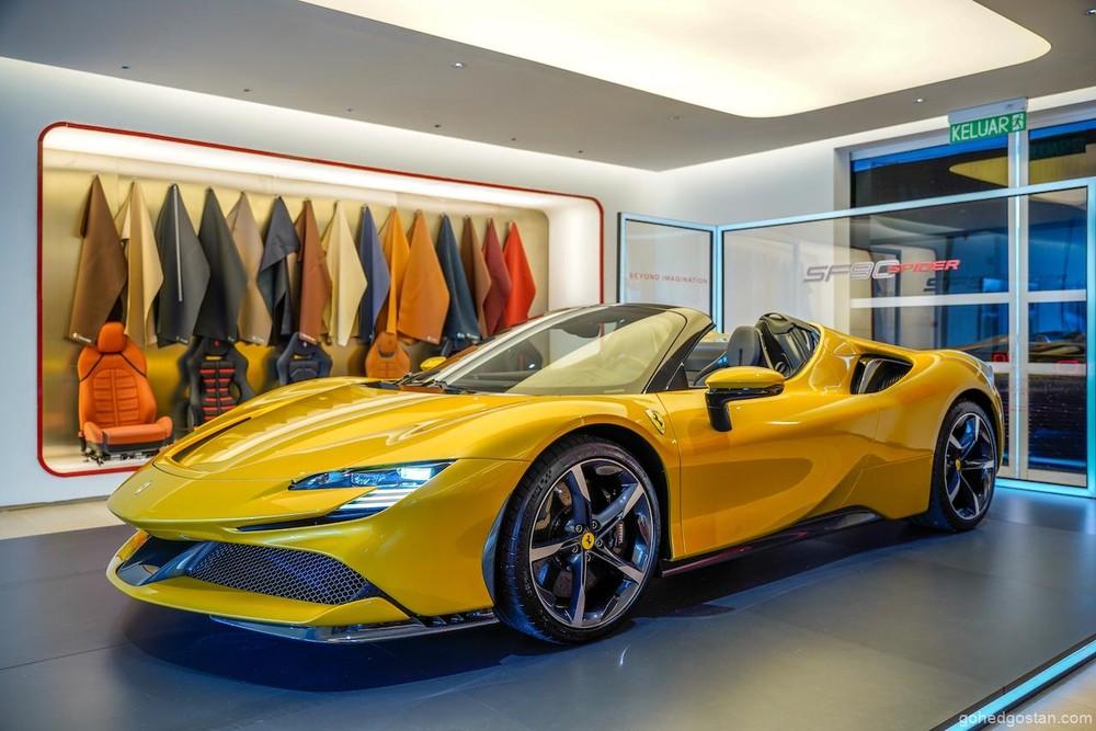 SF90 Spider cũng đang là chiếc siêu xe mui trần mạnh nhất của Ferrari