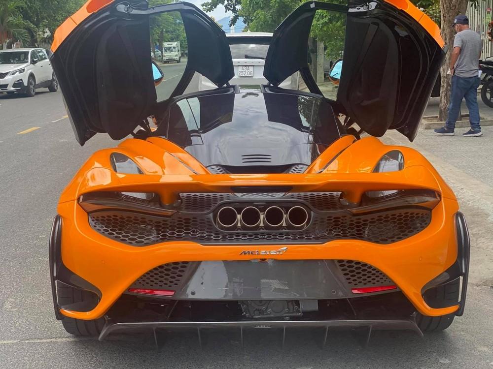 McLaren 765LT có đến tận 4 ống xả