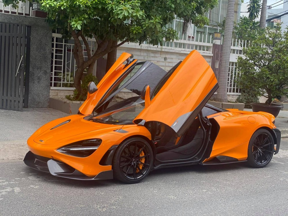 Siêu xe McLaren 765LT này lúc còn ở Đà Nẵng