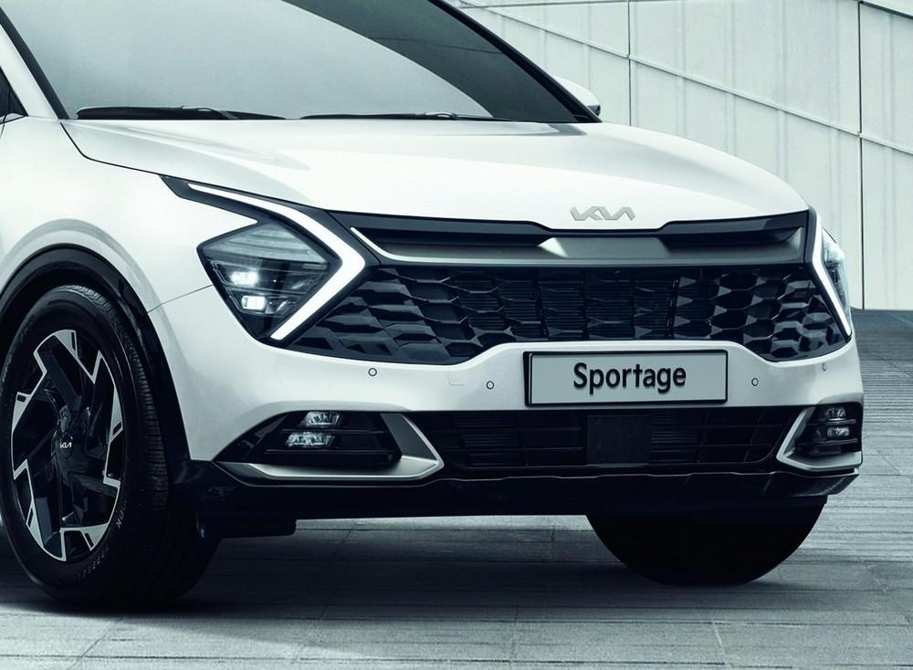 Đầu xe Kia Sportage 2022