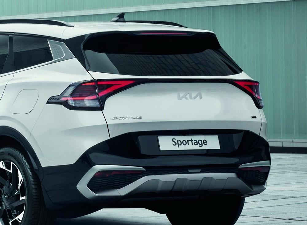 Cận cảnh đuôi xe Kia Sportage 2022