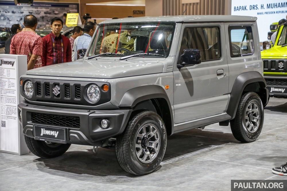 Có tin đồn Suzuki Jimny chuẩn bị được phân phối chính hãng tại Việt Nam.