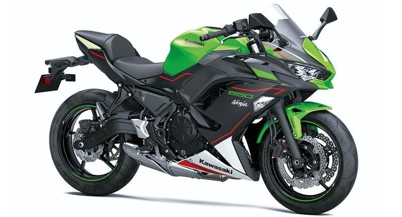 Kawasaki Ninja 650 2022 được giữ nguyên thiết kế và trang bị