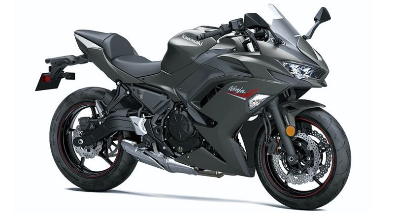 Kawasaki Ninja 650 2022 màu xám chì mới