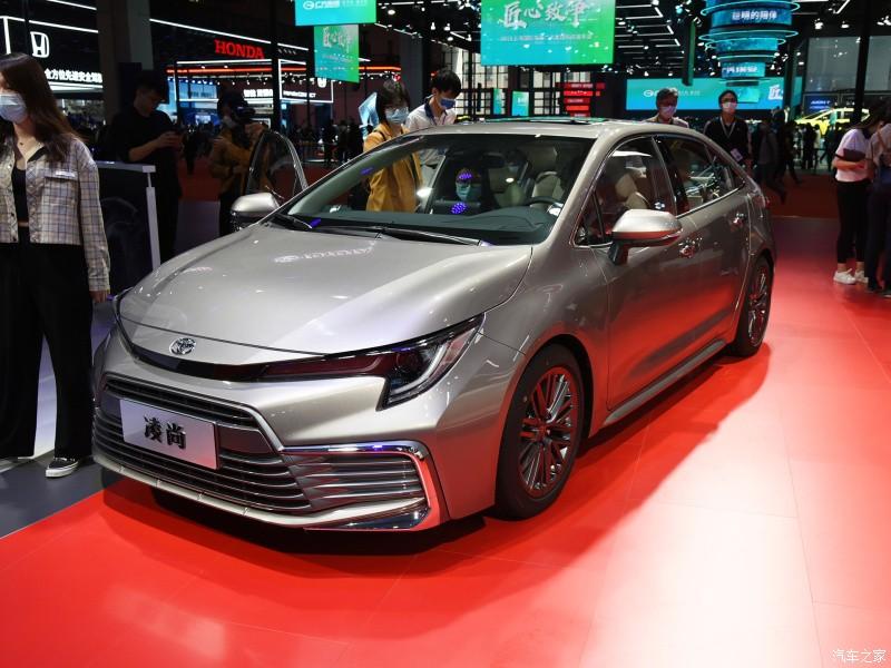 Toyota Levin GT 2021 ra mắt trong triển lãm Ô tô Quảng Châu 2020