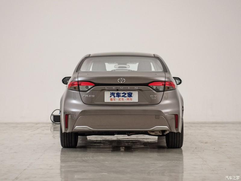Thiết kế đằng sau của Toyota Levin GT 2021