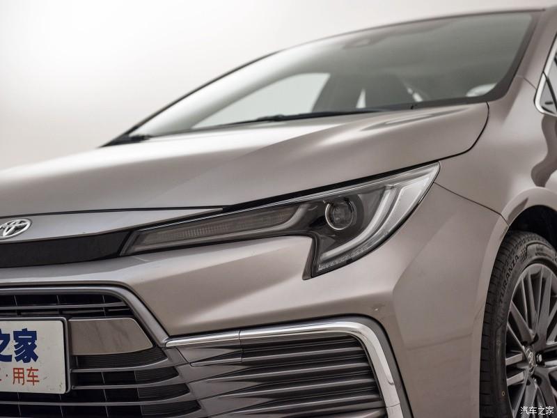 Đèn pha hình chiếc rìu tomahawk của Toyota Levin GT 2021