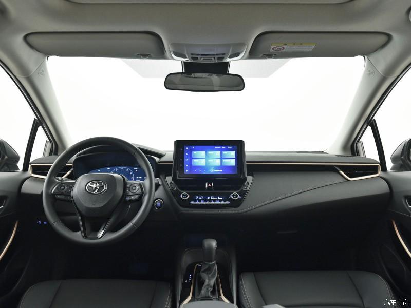 Nội thất bên trong Toyota Levin GT 2021