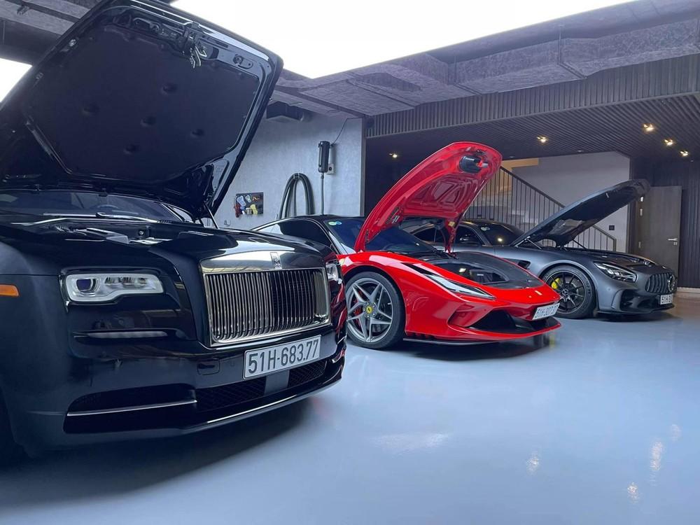 Những chiếc siêu xe của Cường Đô-la