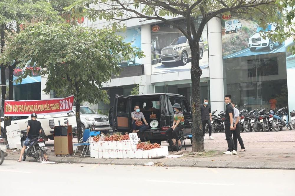 Địa điểm hỗ trợ bán vải thiều Bắc Giang của showroom siêu xe có tiếng tại Hà Nội