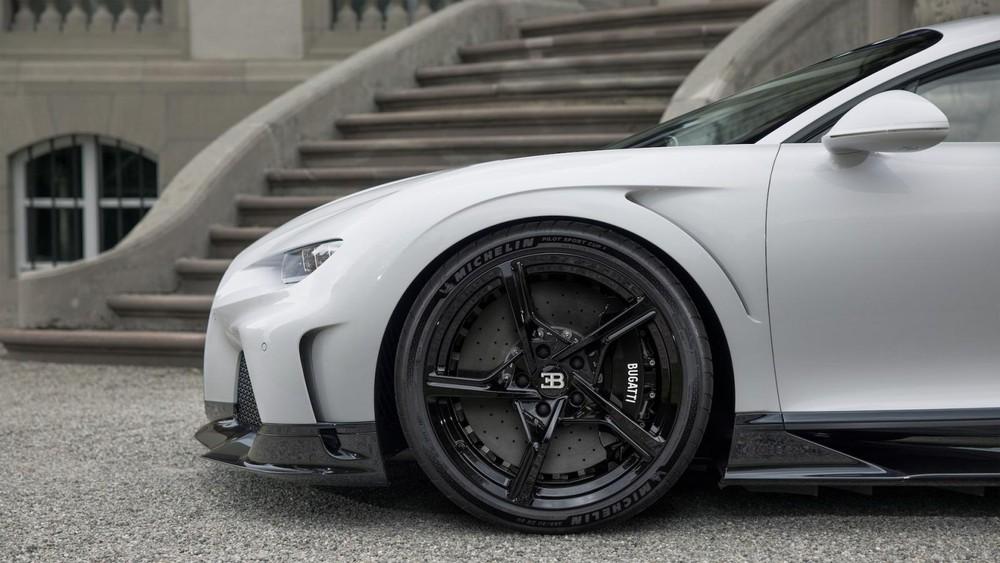 Bộ mâm chữ Y đặc biệt của Bugatti Chiron Super Sport